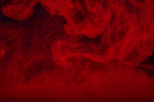Abstract Red Ink Background Wi...