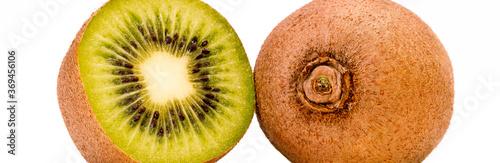 Foto halbierte kiwi