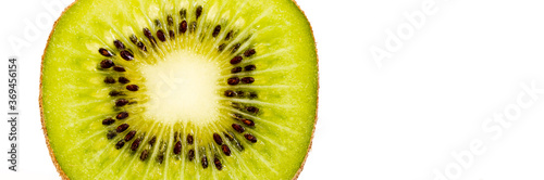 Foto halbe kiwi