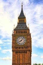 London Big Ben Tower Close-up