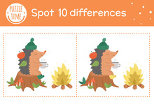 Autumn Find Differences Game F...