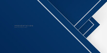 Blue Polygonal Abstract Backgr...