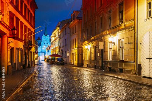 Riga, Latvia Canvas Print