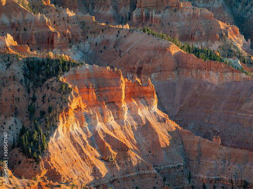 Fototapety, obrazy: Beautiful landscape saw from Chessman Ridge Overlook of Cedar Breaks National Monument