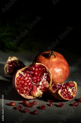 Fotografie, Obraz Baroque pomegranate