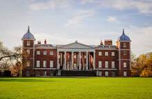 Osterley Park House, The Transparent Portico On The East Front, London
