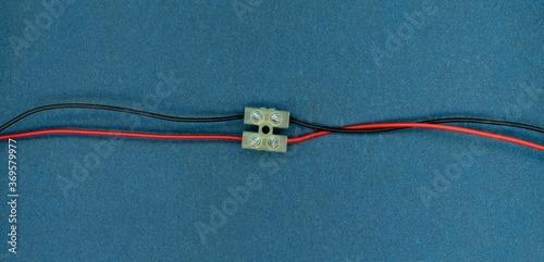 Obraz na plátně wire with screw terminal