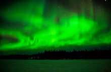 Northern Lights At Yellowknife...