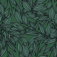 Floral Seamless Pattern With L...