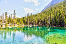 Emerald-Colored Grassi Lakes I...