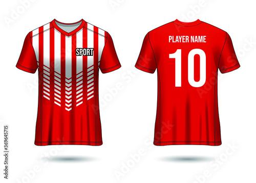 T-Shirt Sport Design Fototapete