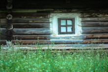 A Wooden House In The Forest. ...