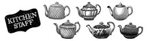 Kitchen Staff. Teapot Set. Eng...