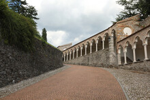 Arcades Of The Walkway To Reach The Castle Of The City Of UDINE
