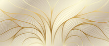 Luxury Golden Wallpaper. Art D...