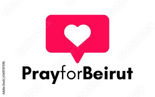 Pray for Lebanon Wallpaper Mural