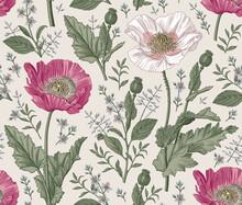 Seamless Pattern. Beautiful Bl...