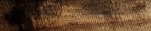 Wooden Banner. Wood Texture. Abstract Backdrop. Space For Copy Text. Unfinished Rough Sawn Wooden Surface.