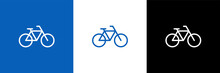 Abstract Bicycle Logo Template. Bike Shop Corporate Branding Identity