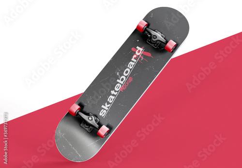 Obraz Skateboard Mockup - fototapety do salonu