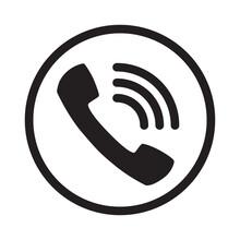 Call Icon Vector. Noisy Phone ...