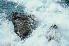 Big Stones In Azure Water Of M...