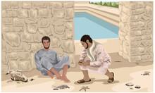 New Testament, John 9, Jesus Heals A Man Born Blind