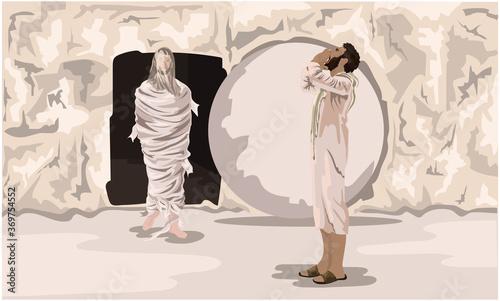 Photo New Testament, John 11 - Jesus Raises Lazarus From The Dead