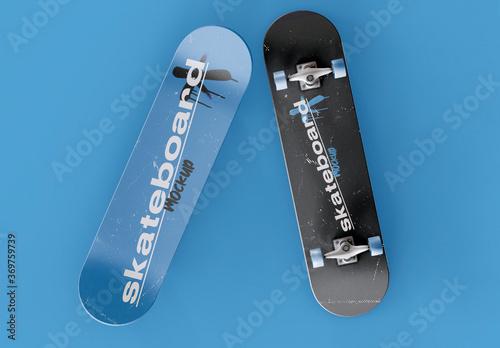 Obraz 2 Skateboards Mockup - fototapety do salonu