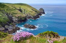 Küste Von Tintagel, Cornwall
