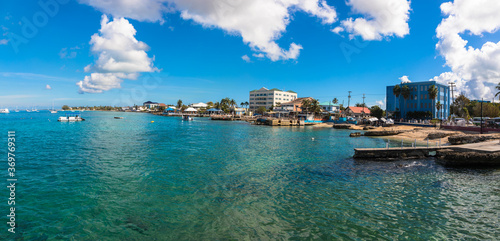 Fotografie, Obraz A view of George Town capital of Grand Cayman, The Cayman Islands