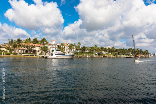 Foto Intracoastal Waterway, Fort Lauderdale, Florida, USA