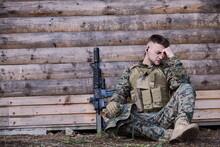 Upset Soldier Has Psychological Problems