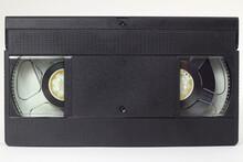 Black VHS Video Tape Cassette ...