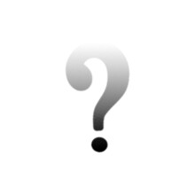 3d Question Mark Halftone Ques...