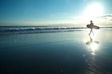 空と海と砂浜、そして...