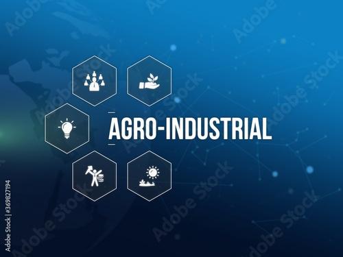 agro-industrial Canvas Print