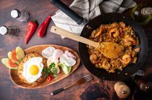 Pan Fried Nasi Goreng Image
