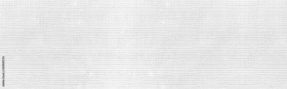 Fototapeta Panorama of  White cotton stripes texture and seamless background