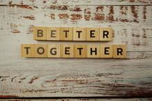 Better Together Alphabet Lette...