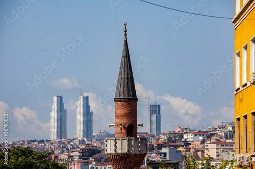 Obraz na plátne Muezzin Turm, Instanbul, Türkei