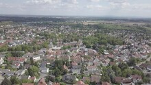 Aerial View Of German Suburb M...