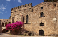 The Old Town Of Rhodes, Fountain And Decorative Art Collection Museum Of Rhodes In Argyrokastrou Square