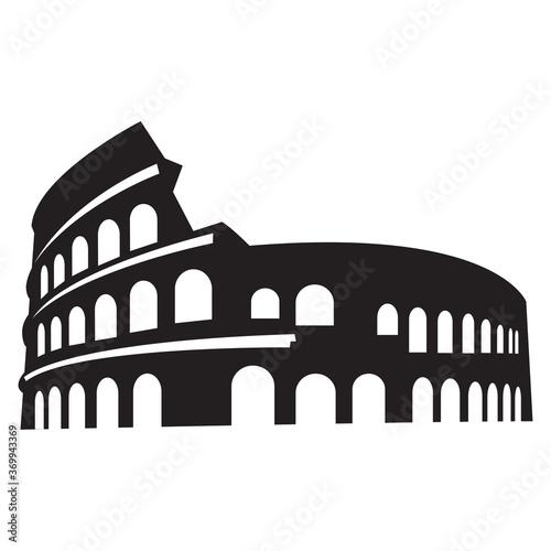 Vászonkép colosseum in rome italy