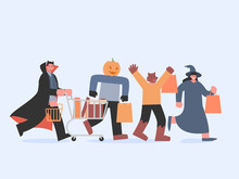 Dracula With Shopping Cart And...