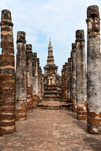 Ancient Buddhist Temple In Suk...
