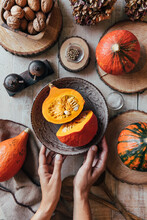Hokkaido Pumpkins