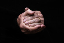 A Pair Of Clasped Old Hands