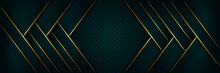 Abstract Luxury Geometric Gree...