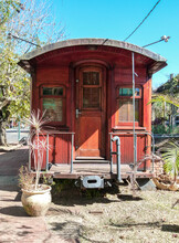 Old Train Wagon That Is Now A Restaurant